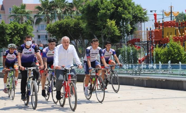 Akdeniz Belediyesi Spor Kulübü Bisiklet Takımı 3 Haziran Dünya Bisiklet Günü