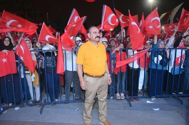 """Arslan """"Cumhuriyetimizi sonsuza kadar yaşatma azimle devam edeceğiz"""""""
