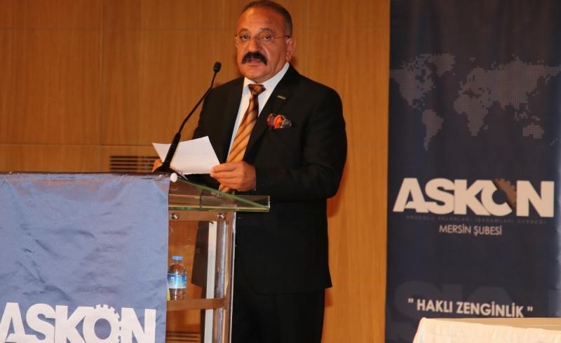 Askon Mersin Şube başkanı Arslan'dan Ramazan ayı kutlaması