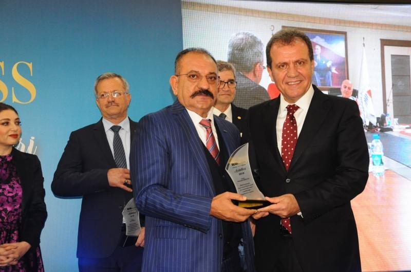 ASKON Şube Başkanı Hasan Arslan'a çifte ödül