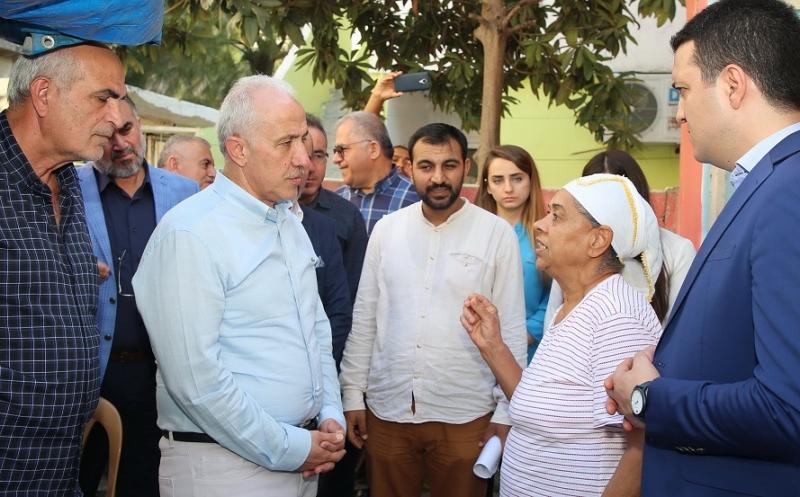 Başkan Gültak, Turgut Reis Mahallesi sakinlerini ziyaret etti