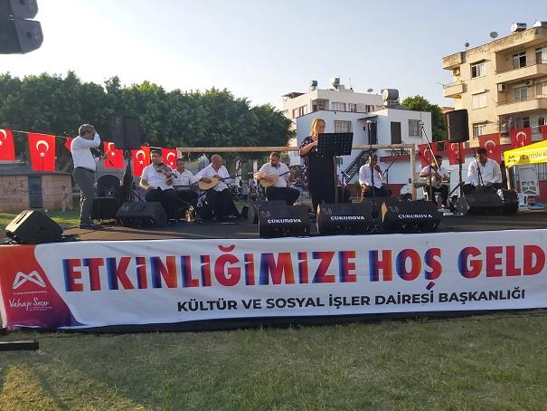 Büyükşehir, Toroslar'da Vatandaşlara Konser Keyfi Yaşattı