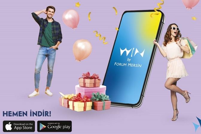 Forum Mersin'in Mobil Uygulaması Kazandırıyor!