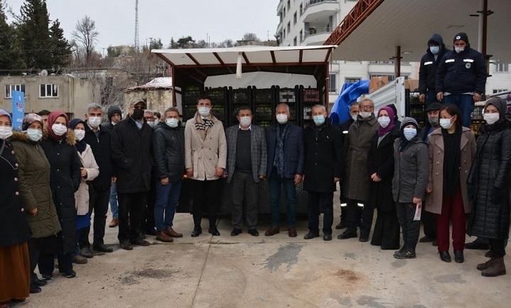Gülnar'dan Operasyon Bölgesindeki Askerler İçin Hazırlanan Ürünler Dualarla Gönderildi