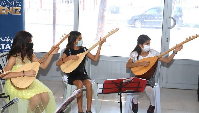 Karacailyas Kültür Ve Sanat Evi'nin Dönem Sonu Etkinliği Yapıldı