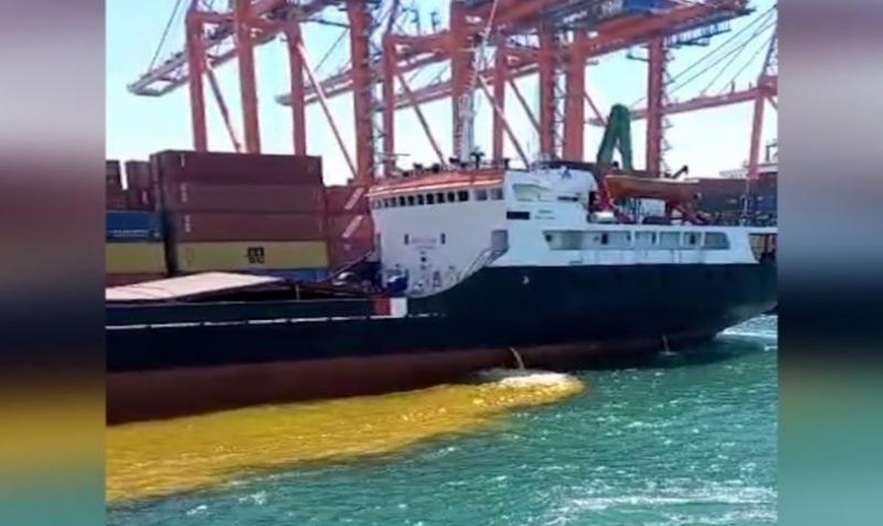 Kirli Balast Bırakan Gemiye 1 Milyon 355 Bin tl Ceza Uyguladı