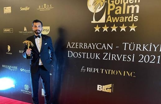 Marvista İnşaat Yılın Uluslararası İnşaat Projesi ödülünü aldı