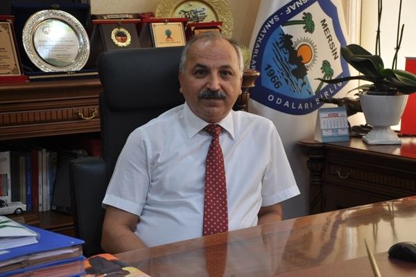 Mersin Esnaf ve Sanatkârlar Odaları Birliği Yönetim Kurulu Başkanı Talat Dinçer: Esnafa hibe başvurusu 25 Mayıs'ta başlıyor