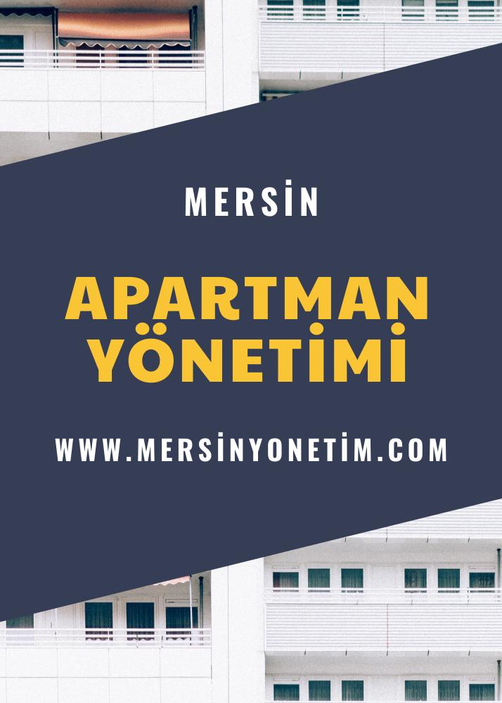 Mersin Site Bina Apartman Yönetimi