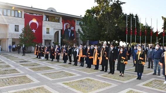 Mersin Üniversitesi 10 Kasım anma töreni