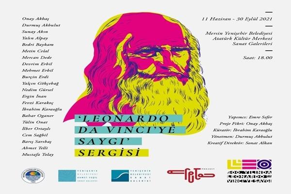 Mersin Yenişehir Belediyesi: Leonardo da Vinci'ye Saygı sergisi 11 Haziran'da açılıyor