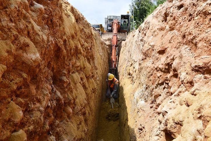 Meski, Arpaçsakarlar Mahallesi'ni Kanalizasyona Kavuşturuyor