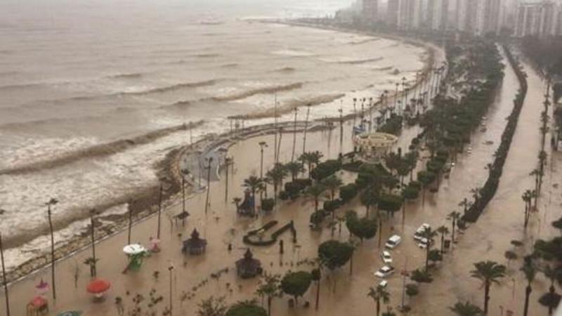 Meteoroloji Genel Müdürlüğü, Mersin için şiddetli yağış uyarısı yaptı