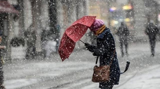 Meteoroloji'den 5 bölgeye sağanak ve kar uyarısı