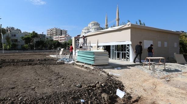 Mezitli Belediyesi Basınevi'de son aşamaya gelindi