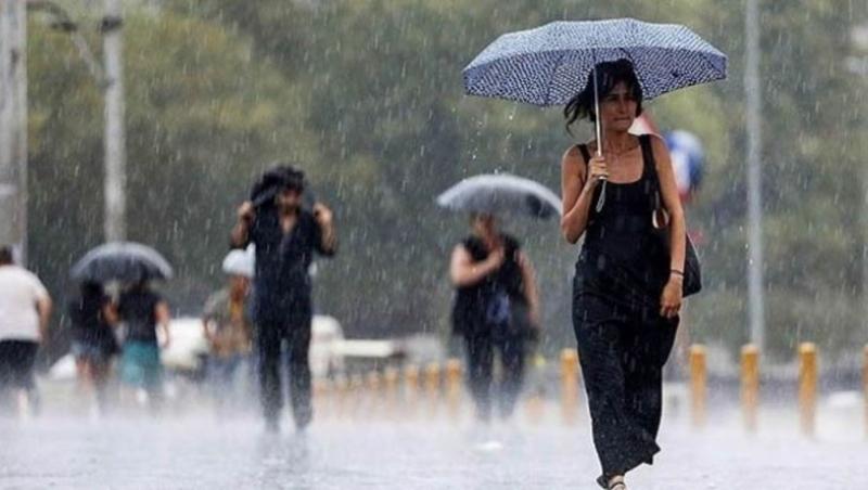 Sağanak Yağış Geliyor, Sıcaklıkla Düşecek