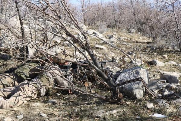 Şırnak'ta 1 terörist tesirsiz hale getirildi
