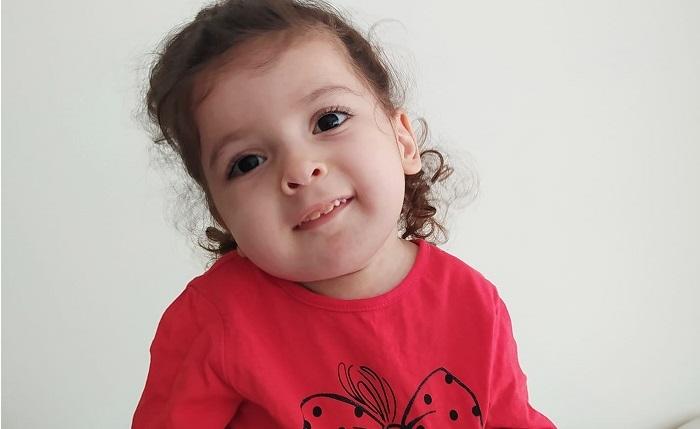 SMA hastası Öykü bebek, tedavi için yardım bekliyor