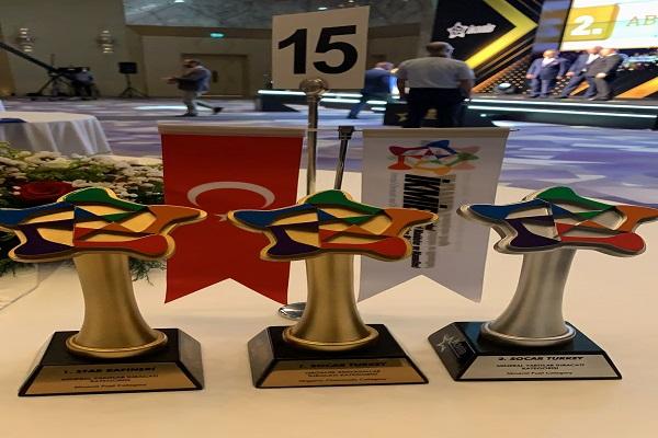 SOCAR Türkiye grup şirketleri İstanbul Kimyevi Maddeler ve Mamulleri İhracatçıları Birliği Türkiye'ye 3 ödül birden