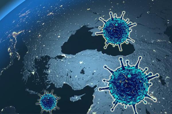 Türkiye'de koronavirüs vaka sayısı düne göre azaldı.