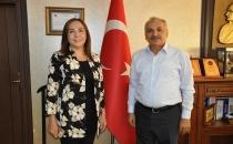 Ak Parti Milletvekili Av Zeynep Yılmaz'dan Başkan Dinçer'e ziyaret