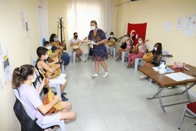 Akdeniz'in Çocukları Sanatla Bütünleşiyor