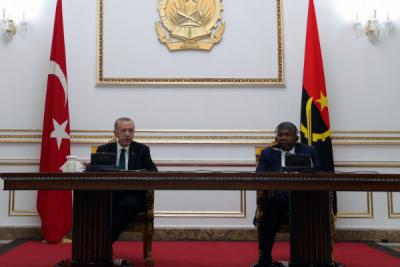 Cumhurbaşkanı Erdoğan, Angola Meclisi Genel Kurulu'na hitap etti