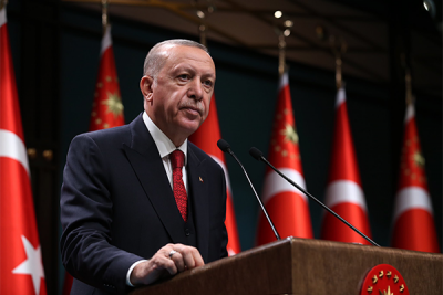 Cumhurbaşkanı Erdoğan, Pakistan MİLGEM Korvet Projesi Töreni'nde konuştu