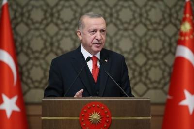 Cumhurbaşkanı Erdoğan, El- Burhan ile ortak basın toplantısı düzenledi
