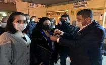 Gençler İle Partilerinden İstifa Edenler Mezitli Chp'ye Katıldı