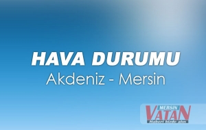 Mersin'de Hava Durumu 21 11 2016