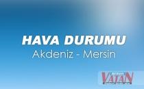 Mersin'de Hava Durumu 23 11 2016