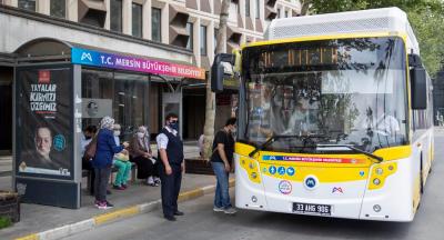 Mersin'e Yeni 100 Otobüs Daha Geliyor