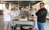 Toros Üniversitesi'nde Uygulamalı Suşi Eğitimi