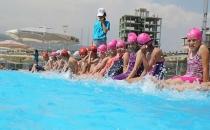 Toroslar'da Yaz Dönemi Yüzme Kursları Başlıyor