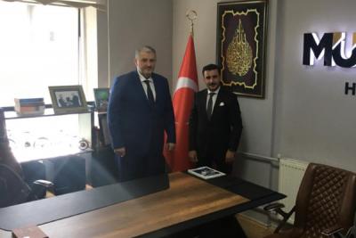 Yüksekova'da MÜSİAD şubesi açıldı